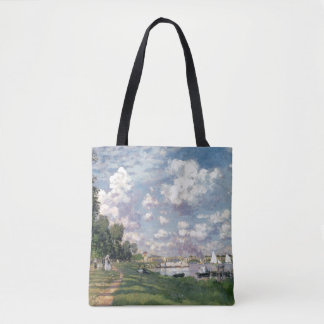 The Marina at Argenteuil, 1872 Tote Bag
