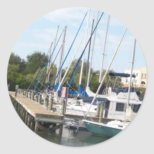 The Marina Classic Round Sticker