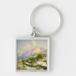 The Marina Grande, Capri, c.1829 Keychain