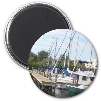 The Marina 2 Inch Round Magnet
