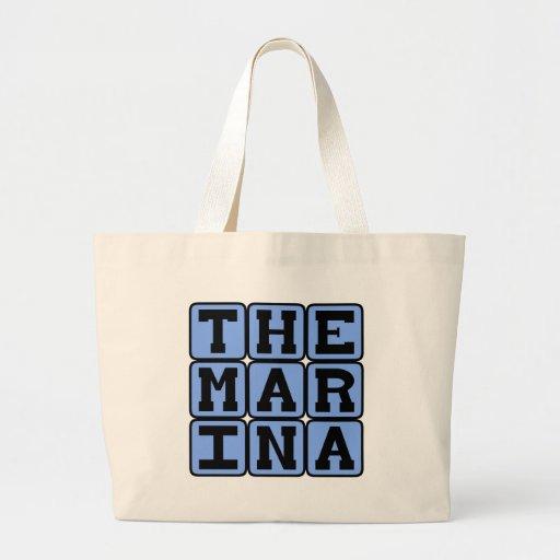The Marina, San Francisco District Canvas Bags