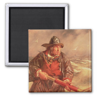 The Mariner 2 Inch Square Magnet