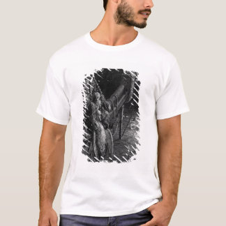 The Mariner gazes on the serpents in the ocean T-Shirt