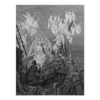 The mariner sees the band of angelic spirits poster