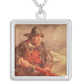 The Mariner Square Pendant Necklace
