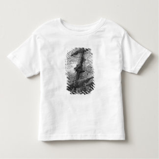 The Mariner up the mast during a storm Toddler T-shirt
