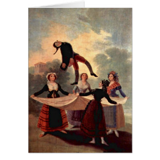 The Marionette By Francisco De Goya Greeting Card