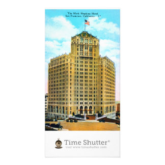 The Mark Hopkins Hotel Personalized Photo Card
