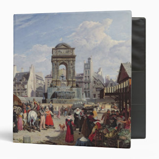 The Market and Fountain of the Innocents Vinyl Binder