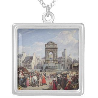 The Market and Fountain of the Innocents Necklaces