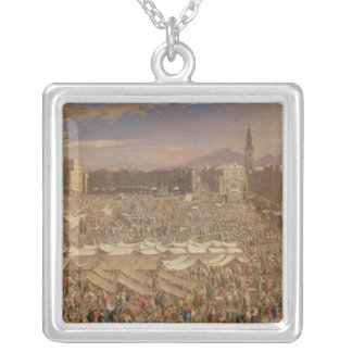 The Market at Naples Silver Plated Necklace
