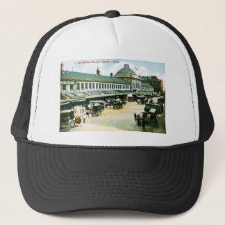 The Market District, Boston, Massachusetts Trucker Hat