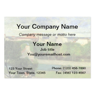 The Market Gardens of Vaugirard - 1879 Large Business Cards (Pack Of 100)