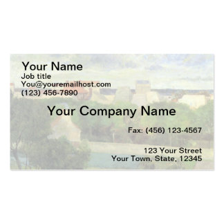 The Market Gardens of Vaugirard - 1879 Double-Sided Standard Business Cards (Pack Of 100)