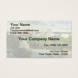 The Market Gardens of Vaugirard - 1879 Business Card