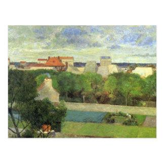 The Market Gardens of Vaugirard - 1879 Postcard