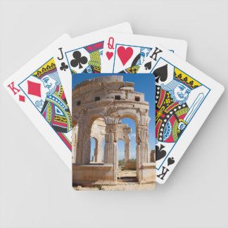 The Market, Leptis Magna, Al Khums District Bicycle Playing Cards