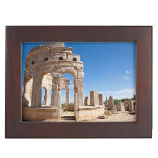 The Market, Leptis Magna, Al Khums District Memory Box