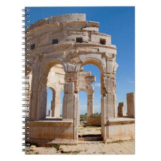 The Market, Leptis Magna, Al Khums District Notebook