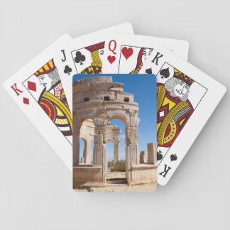 The Market, Leptis Magna, Al Khums District Playing Cards