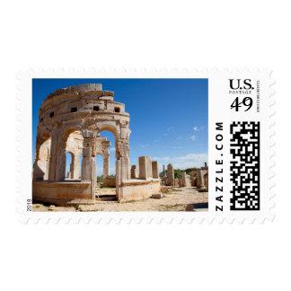 The Market, Leptis Magna, Al Khums District Postage