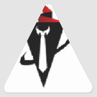 The Marketing Guy Official Merchandise Triangle Sticker