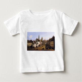 The Marketplace at Pirna by Bernardo Bellotto T-shirts