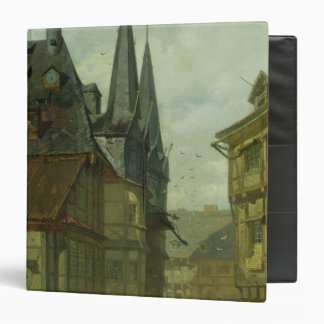 The Marketplace in Wernigerode, 1861 Binder