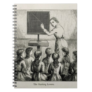 'The Marking Lesson', illustration from 'A Manual Note Books