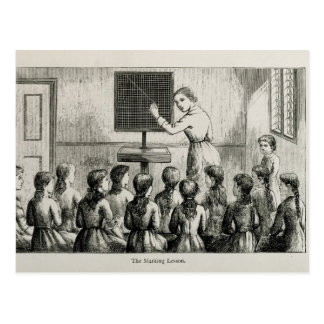 'The Marking Lesson', illustration from 'A Manual Postcard