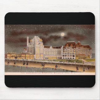 The Marlborough-Blenheim Hotel at Night Mouse Pad