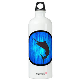 THE MARLIN TRACK ALUMINUM WATER BOTTLE