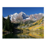 The Maroon Bells in the fall... Postcards