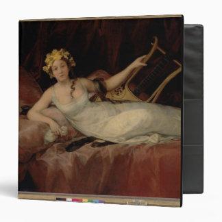 The Marquesa de Santa Cruz, 1805 (oil on canvas) Binders