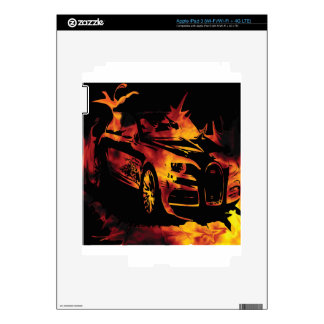The Marqui 11 Car collection Skins For iPad 3