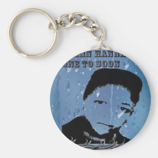The Marqui 11 Darrin Dagwood Hanna gone to soon Basic Round Button Keychain