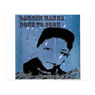 The Marqui 11 Darrin Dagwood Hanna gone to soon Postcard