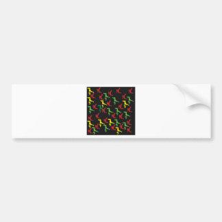 The Marqui 11 Hip Hop Collection Bumper Sticker