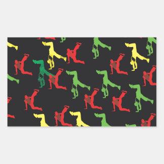 The Marqui 11 Hip Hop Collection Rectangular Sticker