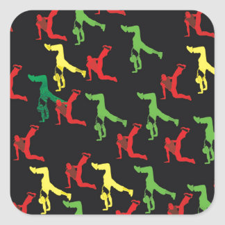 The Marqui 11 Hip Hop Collection Square Sticker
