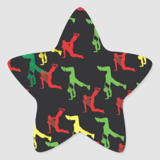 The Marqui 11 Hip Hop Collection Star Sticker