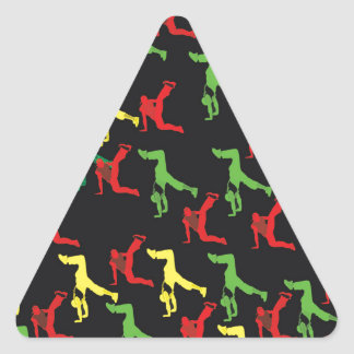 The Marqui 11 Hip Hop Collection Triangle Sticker