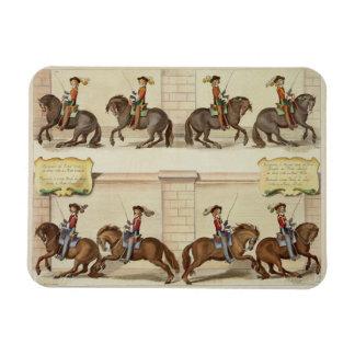 The Marquis of Newcastle on Horseback Demonstratin Magnet