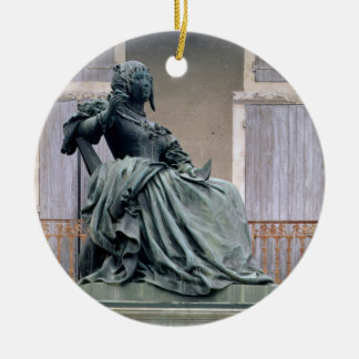 The Marquise de Sevigne (1626-1696) 1857-59 (bronz Ceramic Ornament