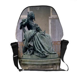 The Marquise de Sevigne (1626-1696) 1857-59 (bronz Courier Bag