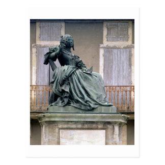 The Marquise de Sevigne (1626-1696) 1857-59 (bronz Postcard