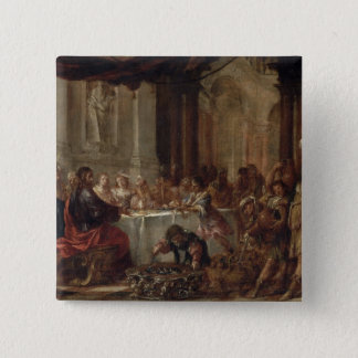 The Marriage at Cana, 1660 Pinback Button