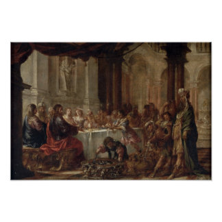 The Marriage at Cana, 1660 Poster