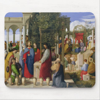 The Marriage at Cana, 1819 Mouse Pad