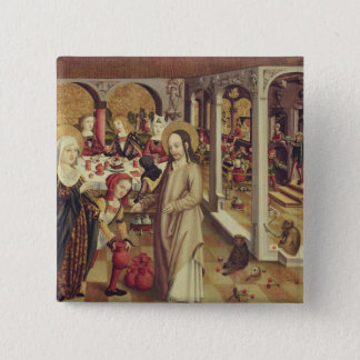 The Marriage at Cana, c.1500 Pinback Button